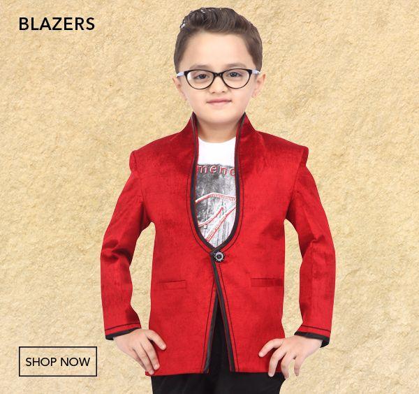 Boys Blazers