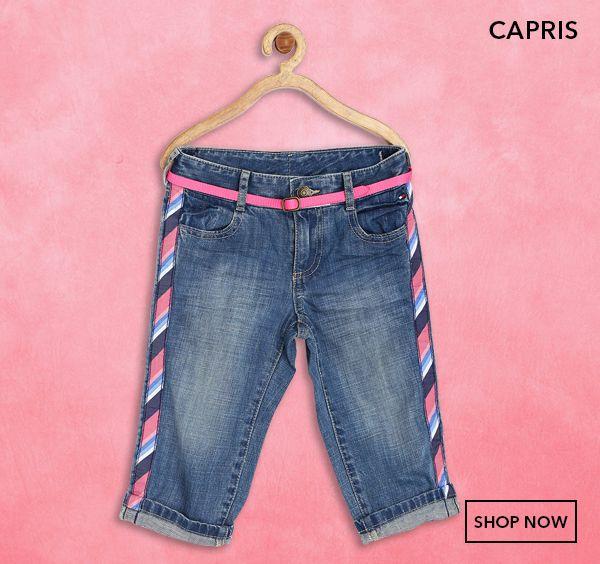 Girls Capris