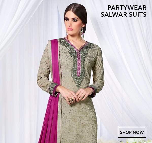 Partywear Salwar Kameez