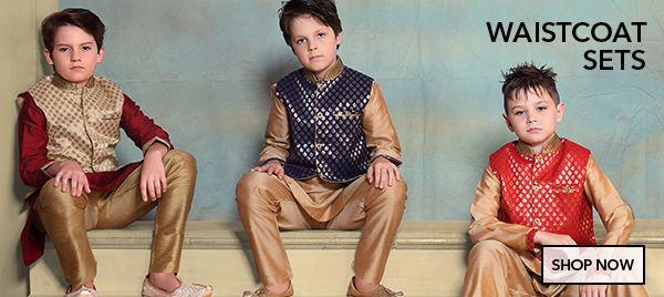 Boys Waistcoat Sets