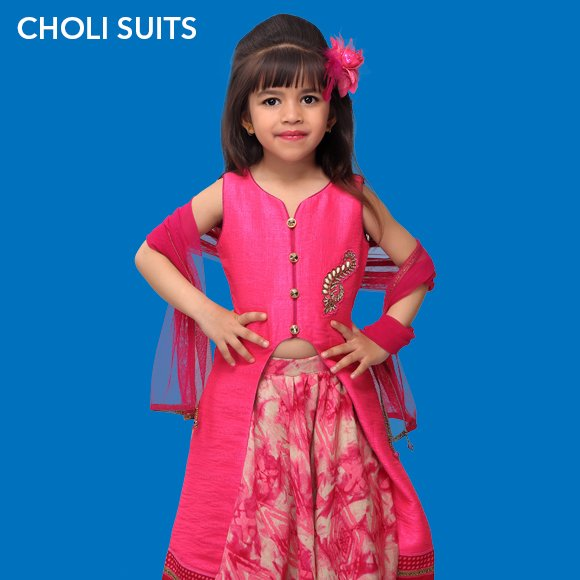 Girls Choli Suits