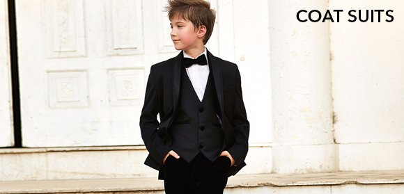 Boys Coat Suits