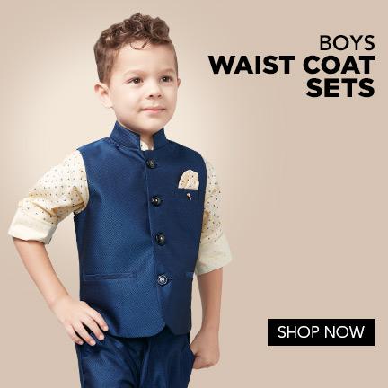 Boys Waistcoat Suits