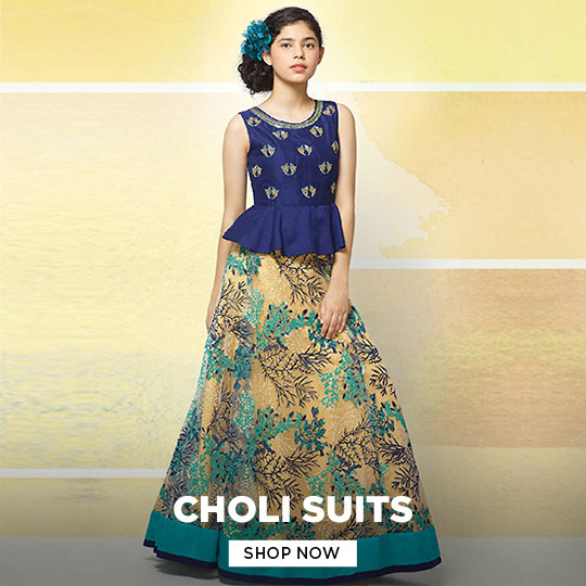 Girls Choli Suits