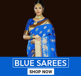 Blue Color Sarees