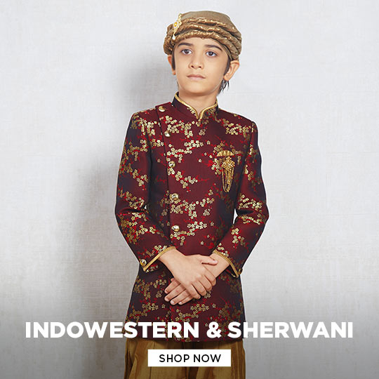 Boys Indowestern Sherwani collection