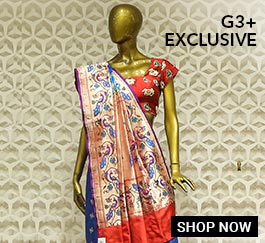 G3+ Exclusive Sarees