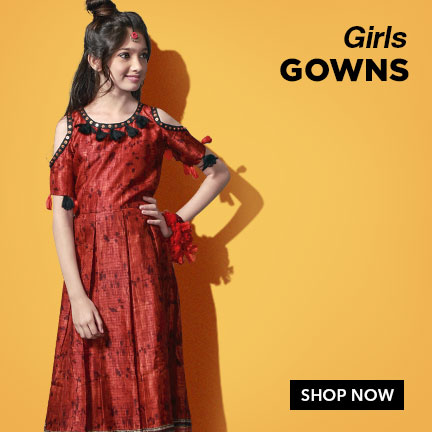 Exclusive Girls Gowns