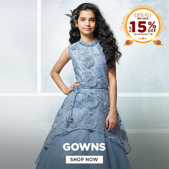 Girls Gowns