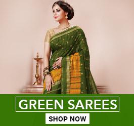 Green Color Saree