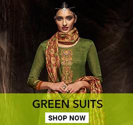 Green Color Salwar Kameez