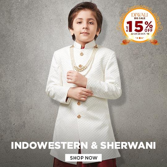 Boys Indowestern Sherwani collection