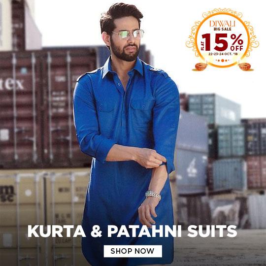 Mens Kurta & Pathani suits