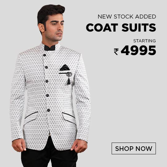 Mens Coat Suits Collection