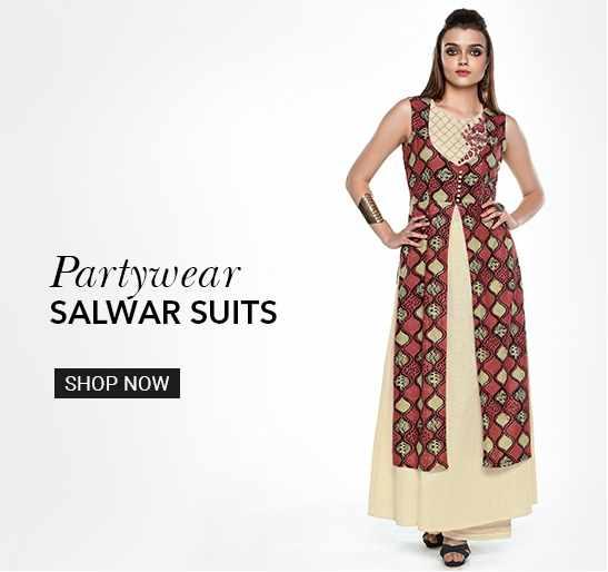 Partywear Salwar Suits