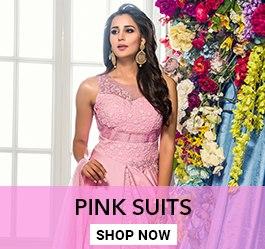 Pink Color Salwar Kameez