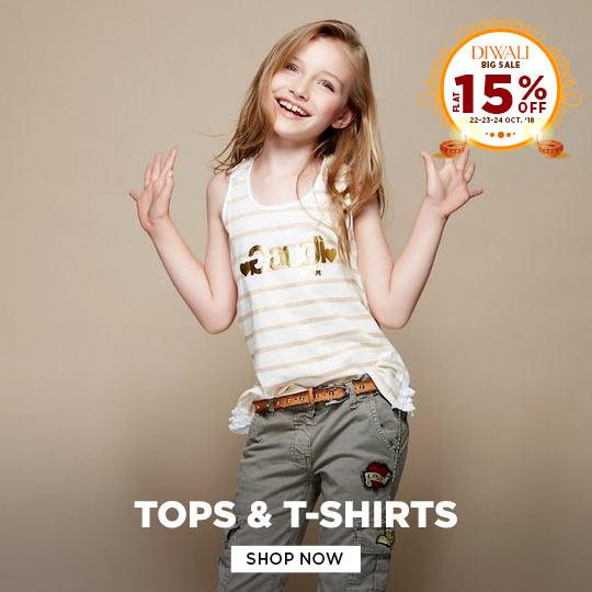 Girls Tops & T-shirts