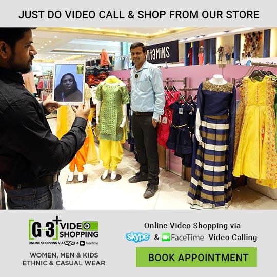 Shop Girls Wear via video call