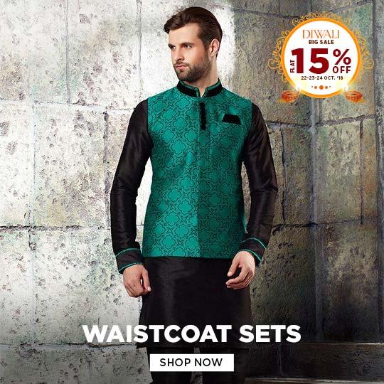 Mens Waistcoat Sets