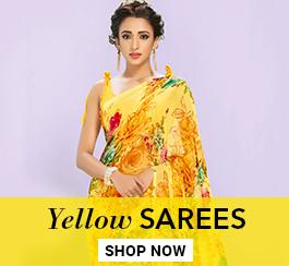 Yellow Color Sarees