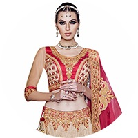 Beige Colour Lehenga Choli