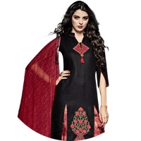 Black Colour Salwar Suit