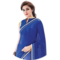 Blue Colour Sarees