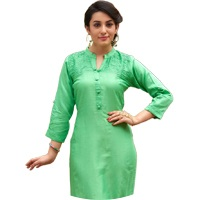 Green Colour Kurtis