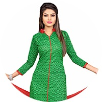 Green Colour Salwar Suit