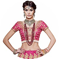 Magenta Colour Lehenga Choli