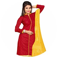 Red Colour Salwar Suit