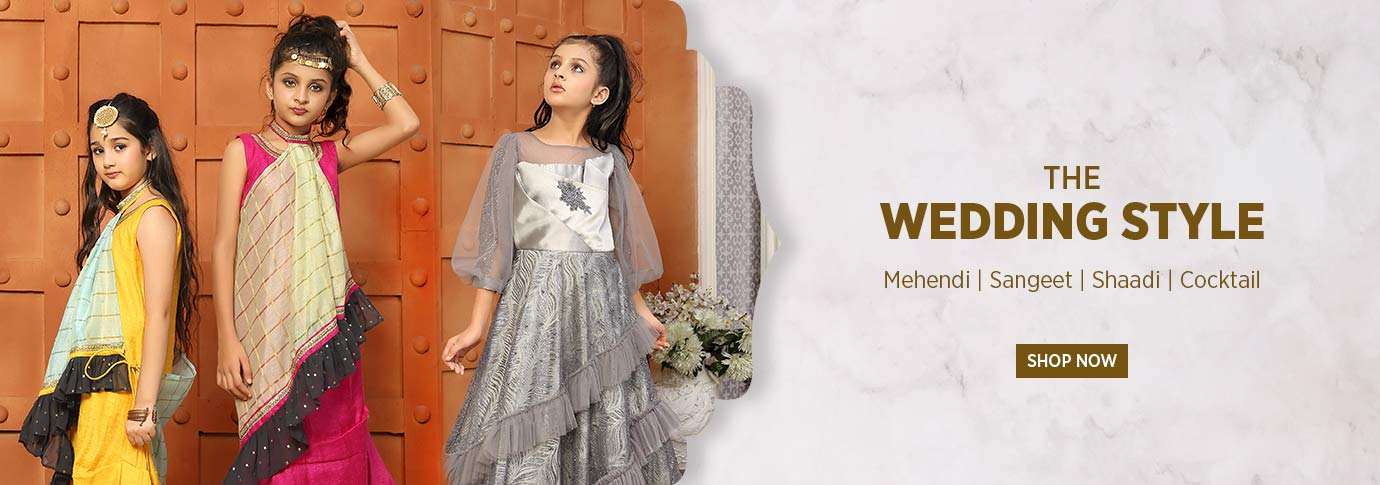Girls Wedding collection