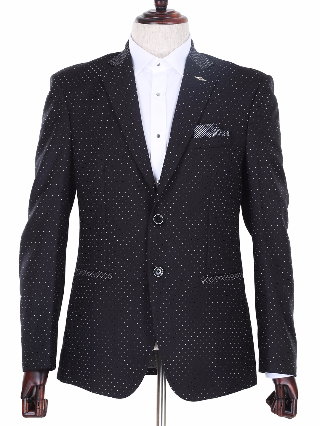 Get Discounts on SKU#KR Mens Black Cotton Velvet Blazer on hereyfiletk.gq(89).