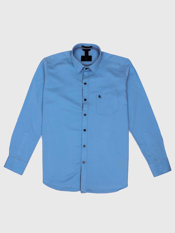 02b5be4b23cf EQIQ light blue solid shirt - G3-MCS5890