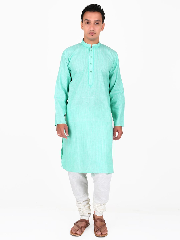 G3 Exclusive green designer cotton wedding wear men kurta suit - G3 ...