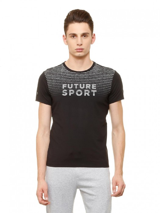 Allen Solly Black Hue Printed T-shirt