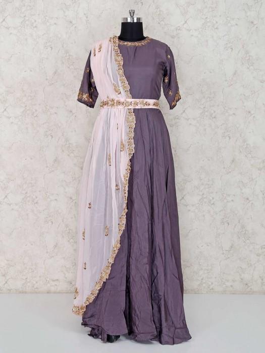 Anarkali Floor Lenghth Designer Festive Wear Suit
