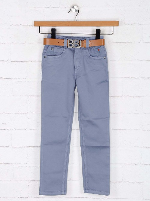 Bad Boys Blue Solid Boys Jeans