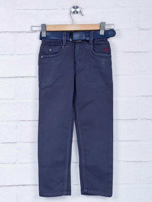 Bad Boys Boys Classic Navy Hue Solid Jeans