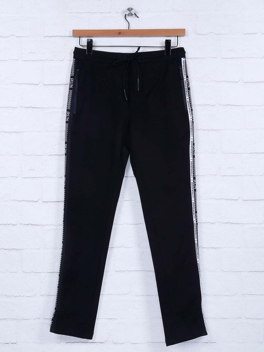 Cookyss Black Hue Cotton Night Wear Track Pant