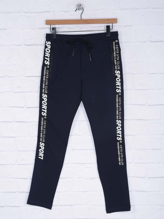 Cookyss Presented Navy Track Pant