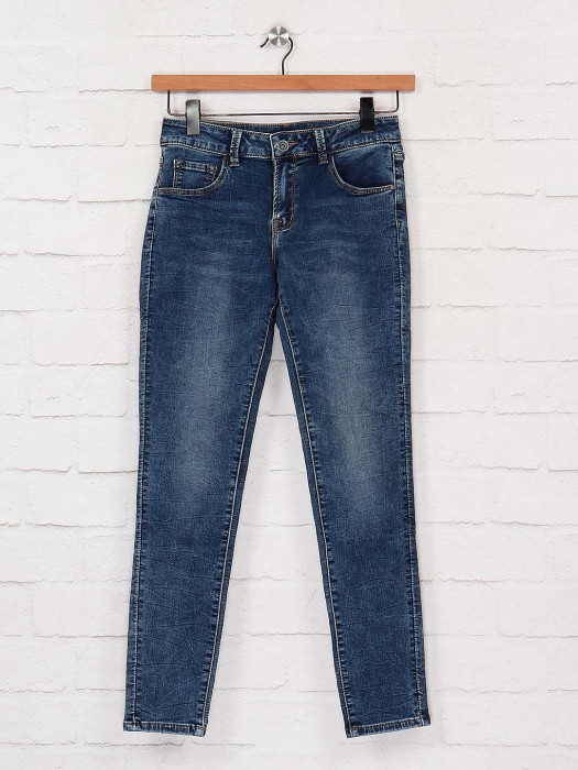 Deal Denim Casual Jeans In Blue Color