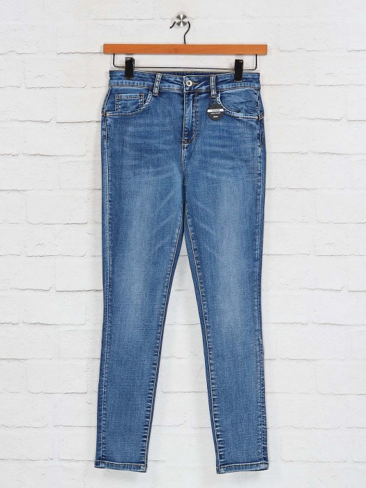 Deal Presented Solid Skinny Fit Jeans