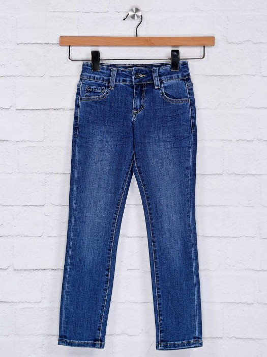 Deal Solid Royal Blue Jeans