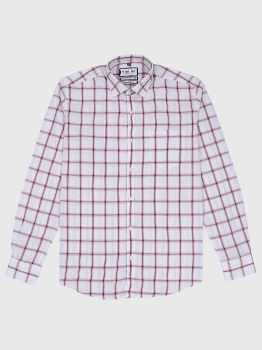 Easies Checks Pattern White Color Shirt