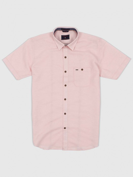 EQIQ Presented Pink Colored Shirt