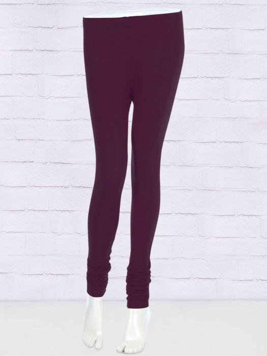 FFU Skinny Fit Purple Color Leggings