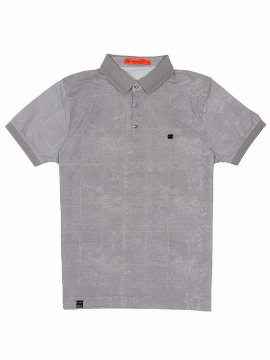 Freeze Slim Fit Grey Hue Solid T-shirt