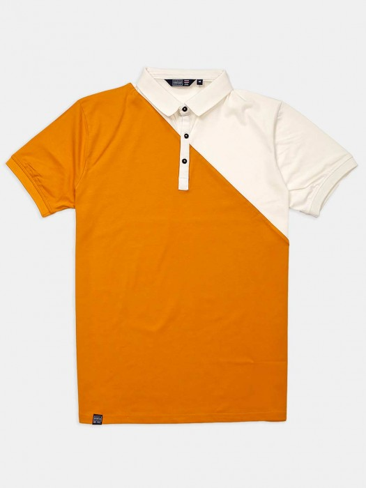 Freeze Solid Orange And Cream T-shirt