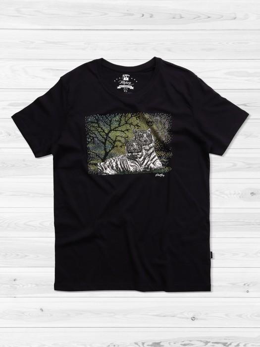 Fritzberg Black Slim Fit T-shirt